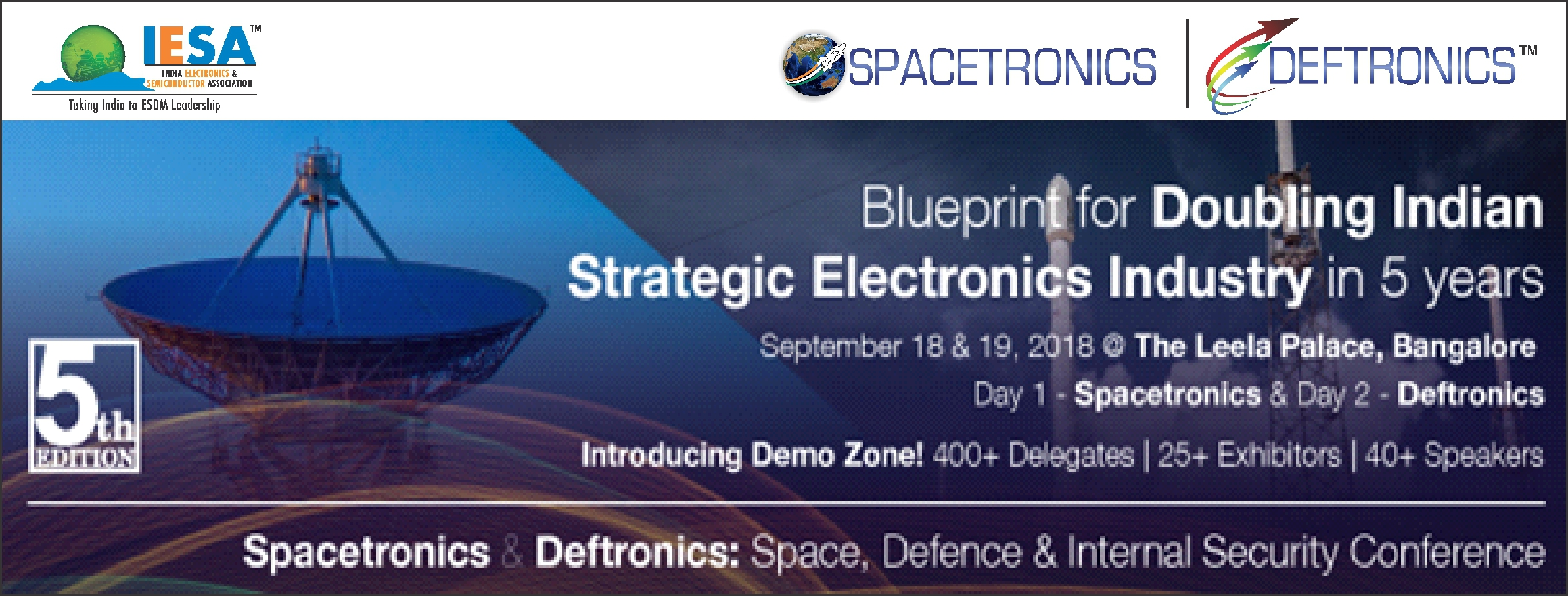 SPACETRONICS & DEFTRONICS 2018