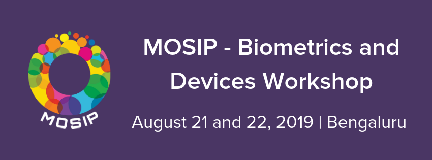 MOSIP Biometrics and Devices Workshop