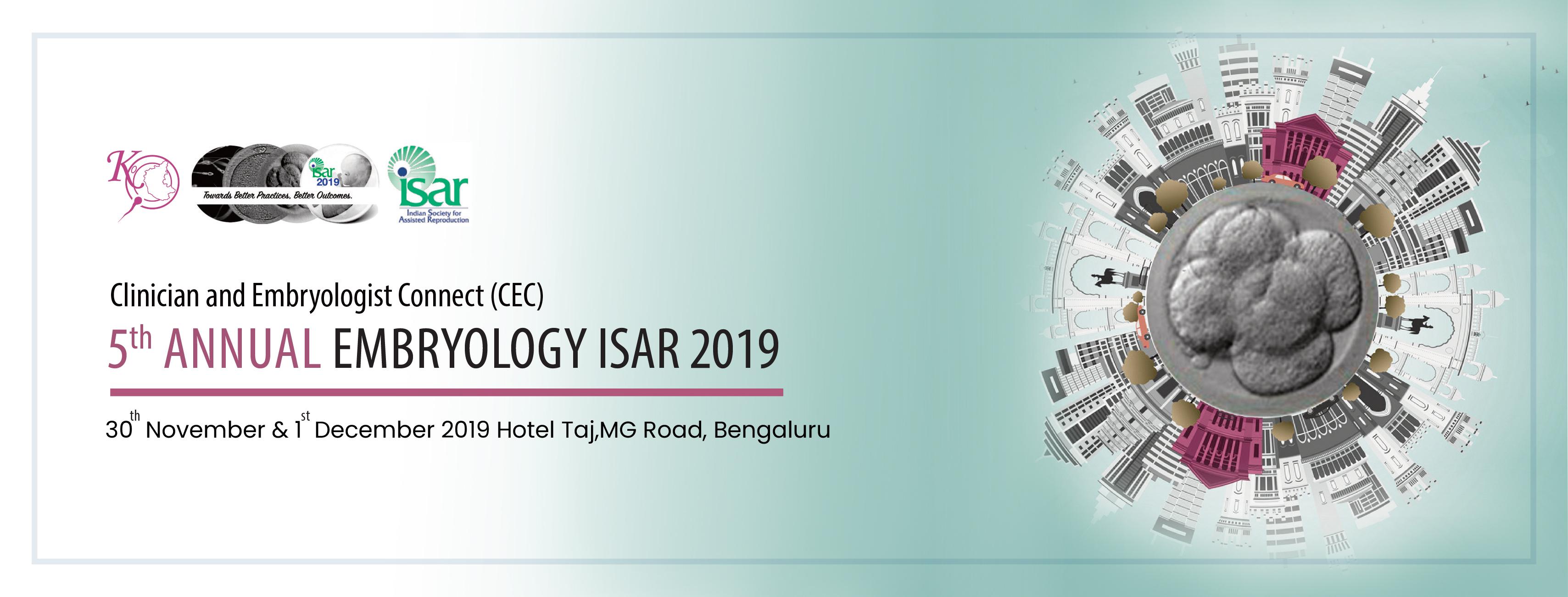 EMBRYOLOGY ISAR 2019