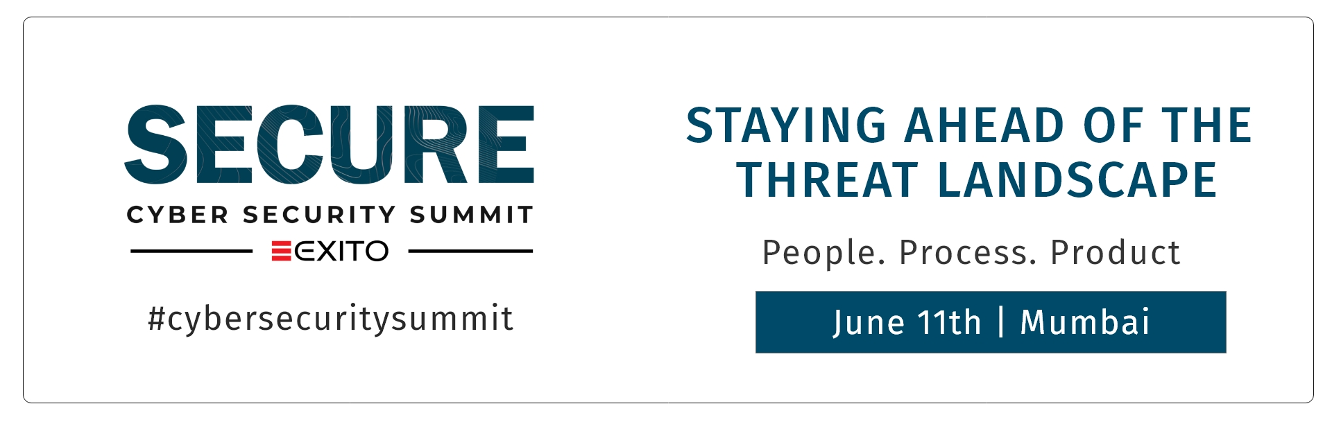 6th Edition of Secure- Cybersecurity Summit